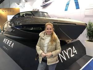 SCS team at Dusseldorf Boat show 2020