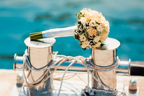 Weddings on board, a dream came true by SCS Yachting