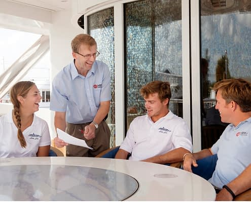 How to reduce stress when working on a superyacht by SCS Yachting