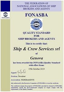 SCS Yachting_Quality Standard for Ship Brokers and Agents_certification