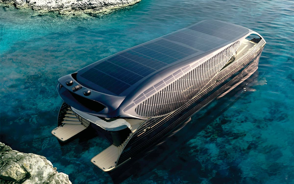 The rising of Solar SuperYacths by SCS Yachting
